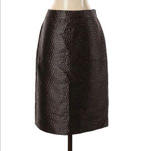 ❤️HOST PICK❤️ J. Crew jacquard dot pencil skirt